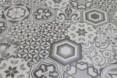 Hexagon Harmony 17.5x20cm - Hexagon - Feature Tiles - Tiles