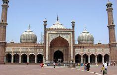 Jama Masjid in Delhi; Privatreise Nordindien - Yoga und Kultur