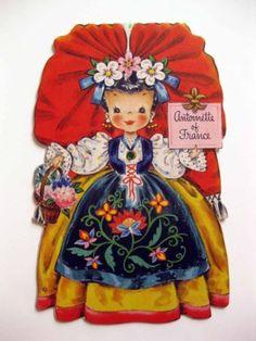1947-Hallmark-Paper-Doll-Card-Land-of-Make-Believe-Antoinette-of-France-B