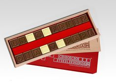 ¡19 de marzo es el Día del Padre! Tenemos el regalo ideal. Artisan Chocolate, Berries, Ideas, Bonbon, Sweets, Happy Fathers Day, Christmas Presents, Shapes, Messages