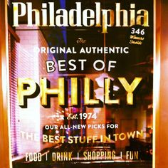 Best of Philly via @jjust_jotter