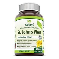 Helps Maintain a Positive Mood * Used for centuries as a tonic, St. John's Wort helps support a healthy emotional balance and a positive mood.  * Supports Emotional Balance * Discover your inner spirit of tranquility with St. John's Wort to help support a positive mood and a healthy e... more details at http://supplements.occupationalhealthandsafetyprofessionals.com/herbal-supplements/st-johns-wort/product-review-for-herbal-secrets-st-johns-wort-700-180-capsules-suppor