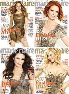 Sex and the City Marie Claire Covers
