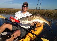Monster Redfish caught on a spinner bait - Florida Sportsman #fishing #wickedcatch