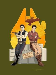 Star Wars/Firefly // epic crossover + hunky space captain showdown. i'm in.