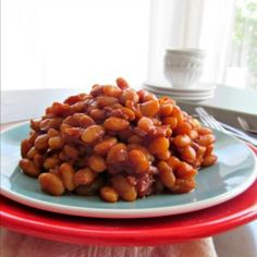 BBQ Baked Beans from scratch - these are awesome, really I don't care about baked beans normally but these I will devour
