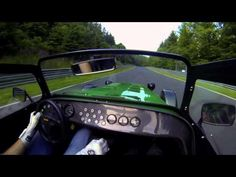 Nordschleife lap in a Caterham 485S: F1 driver Alexander Rossi takes Will Buxton for a spin.