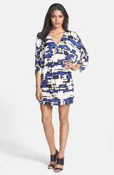 Parker 'Catalina' Print Blouson Dress available at #Nordstrom