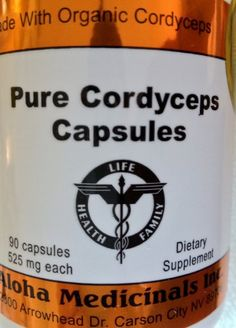 Pure Cordyceps Capsules 525 Mg , 90 Capsules , 12 Bottles ** You can find more details by visiting the image link.