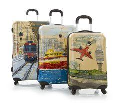 Sketchpedition - Heys Lightweight Luggage