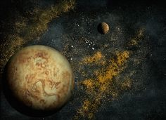 Edible Space Photos Created with Pancakes, Peppercorns, and Other Everyday Ingredients - My Modern Met