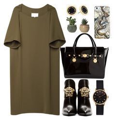 """""""Work stylish"""" by bo-jane ❤ liked on Polyvore featuring Maison Margiela, Versace, Marc by Marc Jacobs, versace and marcjacobs"""
