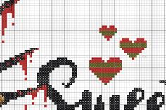 Beaded Bracelet Patterns, Bead Loom Patterns, Stitch Patterns, Cross Stitch Letters, Cross Stitch Baby, Freddy Krueger, Cross Stitching, Cross Stitch Embroidery, Snitches Get Stitches