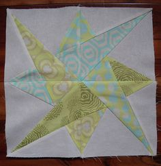 Mystery QAL - Block 2 by shecanquilt, via Flickr