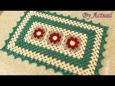 Tapete de Crochê Primer (AULA COMPLETA) - ByActual - YouTube