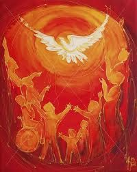 'Holy Spirit, you set us free' a cappella by Sam Robson + Pentecost litany Here's a Pentecost song, painting, and litany from the UK. Psalm 104, Catholic Art, Religious Art, Come Holy Spirit Prayer, Pentecost Songs, Devotional Journal, Saint Esprit, Prophetic Art, Religion