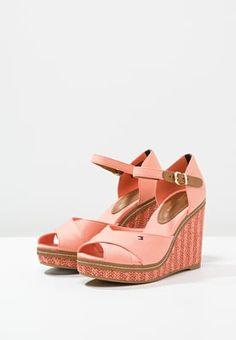 cab45c6674056 Tommy Hilfiger ELENA - High heeled sandals - salmon - Zalando.co.uk