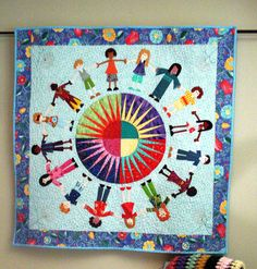 Quilted Wall Hanging By uniquelynancy on Etsy