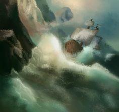#illustration #sketch #concept #art #digital #pirate #child
