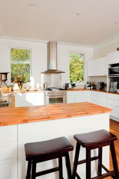 flat pack kitchens gallery - all heart all home u-shape