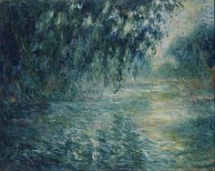 Claude Monet, Morning on the Seine,1898 on ArtStack #claude-monet #art