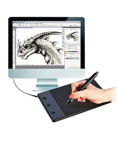 HUION H420 Computer input Device 4.17 x 2.34 inch 4000LPI Drawing Tablet Drawing Board #0
