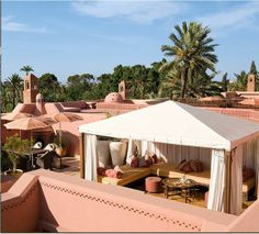 Expensive Accommodation: The Royal Mansour in Marrakech, Morocco charges $2060 per night