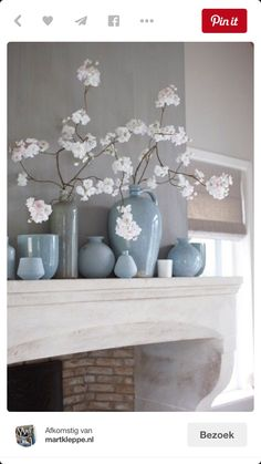 Blue Room Deko-Ideen Source by - Deco Nature, Deco Floral, Interior Decorating, Interior Design, Blue Rooms, Home And Deco, Home Living Room, Interior Inspiration, Floral Arrangements