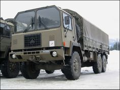 SAURER 6DM - Swiss Army
