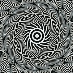 Perceptions~ do we believe everything we perceive, is seeing believing?  Op Art