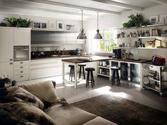 moderne kochinsel der küche tess von scavolini | wohnen, Hause ideen