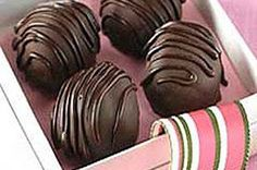 Simply Sensational Truffles from Kraft foods. I've made these and they turned out super cute and very yummy!