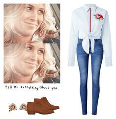 """""""Mary Winchester - spn / supernatural"""" by shadyannon ❤ liked on Polyvore featuring WithChic, Les Néréides, Au Jour Le Jour and MANGO"""