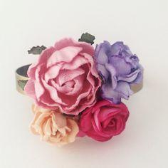 NYHED - Armbånd med blomster