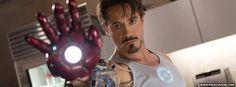 Robert Downey Jr Iron Man Facebook Cover