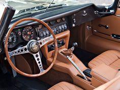 jaguar type e interieur - Recherche Google