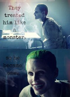 joker, harley quinn, and suicide squad image __XIV__ Best Joker Quotes, Badass Quotes, Joker Qoutes, Joker Meme, Movie Quotes, Life Quotes, Hearly Quinn, Jared Leto Joker, Character Quotes