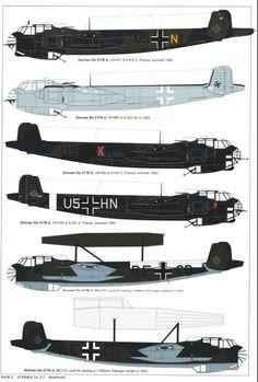 El Dornier Do 217 fue un bombardero usado por Alemania durante la Segunda Guerra Mundial. Fue diseñado para reemplazar al Dornier Do 17.A comienzos de 1938, Dornier inició la fabricación de la especificación No. 1323, que reconocía la necesidad de un bombardero bimotor que pudiera usarse como avión de reconocimiento de largo alcance motorizado por dos motores Daimler-Benz DB 601B. Dornier reconoció los defectos del rápido Dornier Do 17 m...