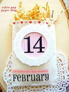 Valentine Glassine Goodie Bag by Angi