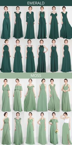 emerald and moss green bridesmaid dresses # bridal shower # bridesmaid dresses . - emerald and moss green bridesmaid dresses # Green wedding … - Emerald Bridesmaid Dresses, Wedding Bridesmaids, Royal Blue Bridesmaids, Emerald Dresses, Forrest Green Bridesmaid Dresses, Lavender Bridesmaid, Bridesmaid Dress Styles, Fall Dresses, Bridal Dresses