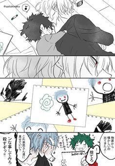 (BnHa) Boku no Hero Academia(Doujinshi Boku No Hero Academia Funny, My Hero Academia Shouto, My Hero Academia Episodes, Hero Academia Characters, Wallpaper Animes, Hero Wallpaper, Deku Anime, Anime Villians, Deku Boku No Hero