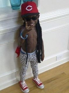 Lil Lil Wayne | 23 Kids Who Are Totally Nailing This Halloween Thing