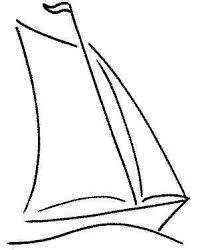 sailboat line drawing - Google Search                              …