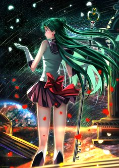 Sailor Pluto (#Setsuna Meiou #Sailor Pluto)