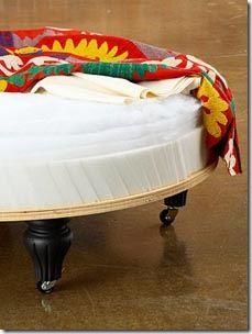 Como fazer um banquinho para os pés - dica de decoração   Vila do Artesão