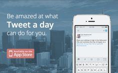 Tweet a day #appstowatch