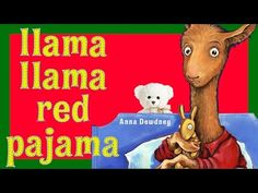 Llama Llama Red Pajama by Anna Dewdney | Children's Book Read Aloud | Storytime With Ms. Becky - YouTube
