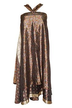 Magic Wrap Skirts Floral Printed Silk Sari Two Layer Reve... https://www.amazon.com/dp/B01I6K519K/ref=cm_sw_r_pi_dp_uGYGxbZP8PKN1