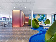 #Prizeotel Hamburg (Germany). Design by #KarimRashid