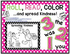 Free Roll, Read and Color Game ~ Focuses on the following sight words: you, like, the, was, can, and.